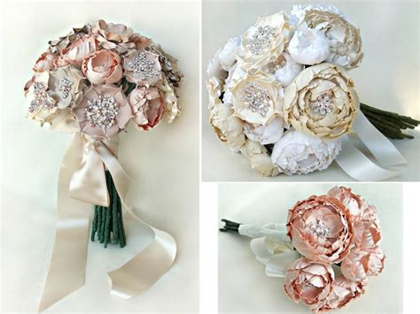 Handmade Bridal Bouquets - memorable wedding best bridesmaid bouquet ideas