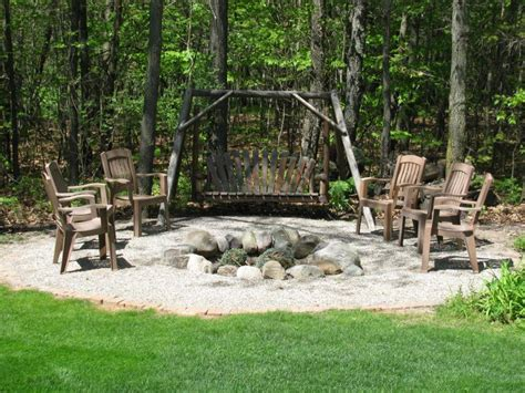 Poolside Benches 15 Fire Pit Ideas To Light Your Flame Garden Lovers Club