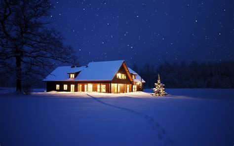 Winter Night HD Wallpapers   THIS Wallpaper