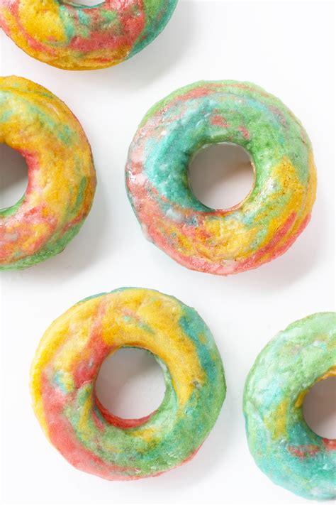 New Choco Tie Dye Syar I 187 tie dye rainbow marbled donuts
