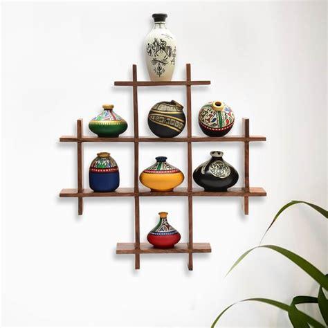 wood shelf multi box wall decoration piece hawashi store