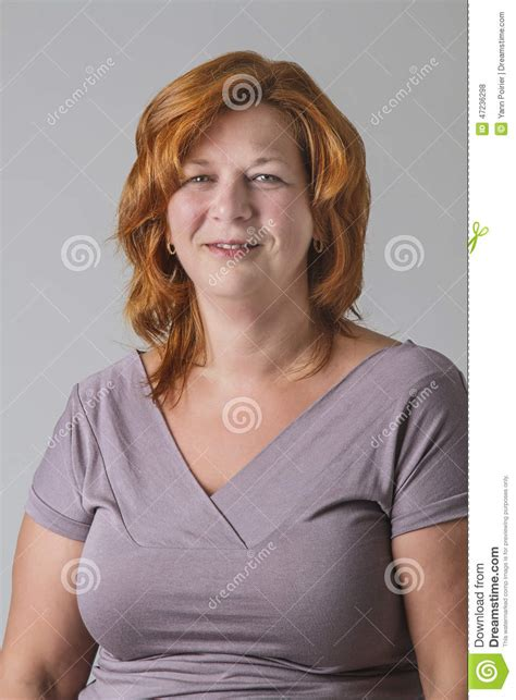 older women with red hair woman with red hair stock photo image of cheerful woman