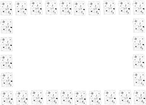 imagenes de margenes matematicas bordes decorativos para trabajos en clase