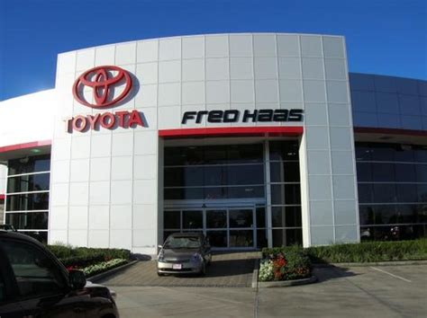 Fred Haas Toyota 249 Fred Haas Toyota Country Houston Tx 77070 Car