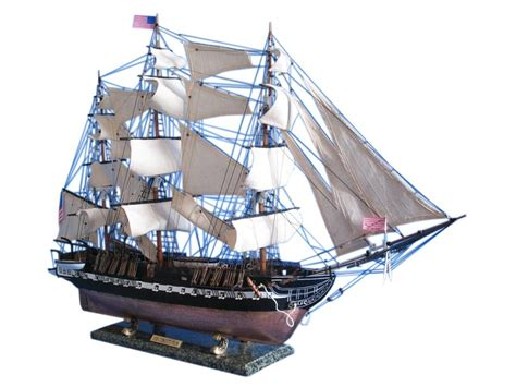 Handcrafted Ship Models - buy uss constitution limited model ship 50 inch