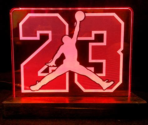 imagenes de signo jordan air jordan 23 acrylic led light sign led display sign led