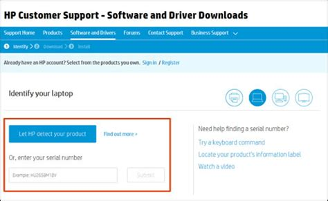 hp web software downloading or updating software and drivers for hp