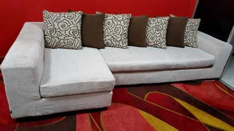 L Shaped Fabric Sofa Singapore by Dynamic L Shaped Fabric Sofa For Sale In Singapore