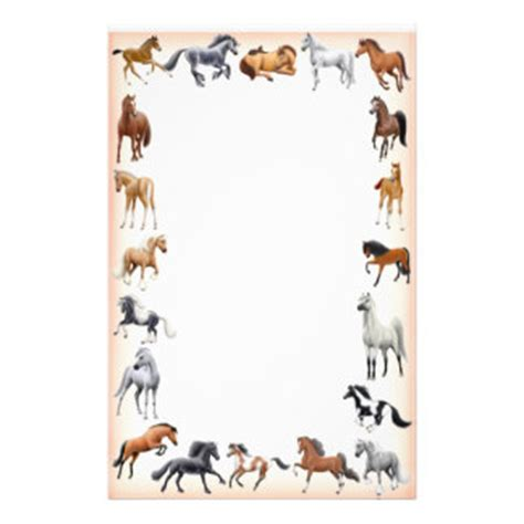 Horses Stationery   Zazzle