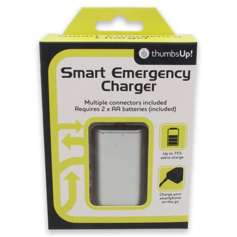 Lu Emergency Charger smart emergency charger unique gifts zavvi australia