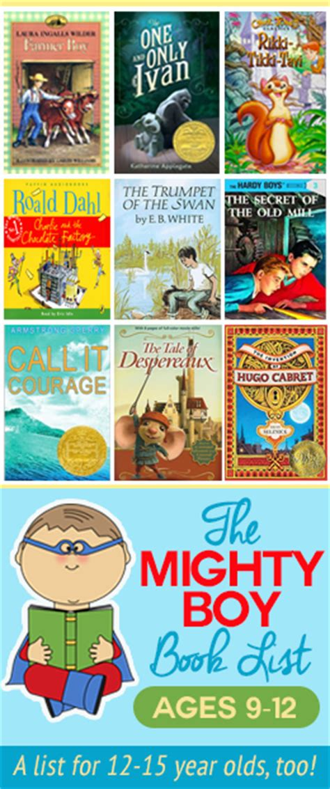 a mighty boy books the mighty boy reading list ages 9 12 i think we could