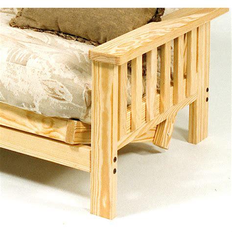 pine futon frame himalaya pine full size futon frame 113128 living room