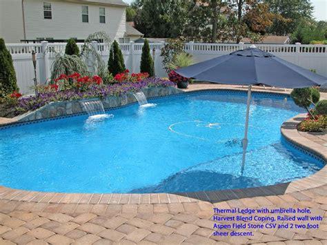 Swimming Pool 829 by Inground Pools Swimming Pool Swim Mor Pools And Spas