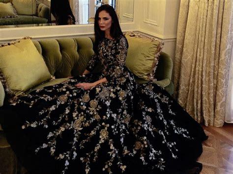 Oscars 2015: How Georgina Chapman Picked Her Dress   ABC News