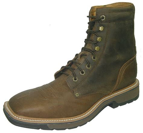 twisted x lace up boots s twisted x work boots lace up steel toe wood s boots