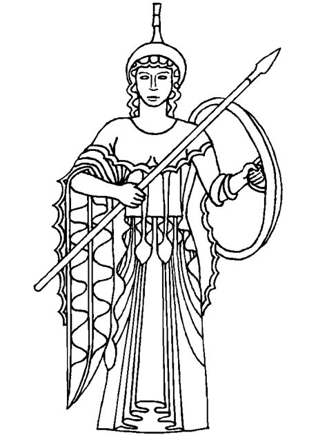 Ancient Greece Colouring Pages Greek Gods And Goddesses Coloring Pages Coloring Home by Ancient Greece Colouring Pages