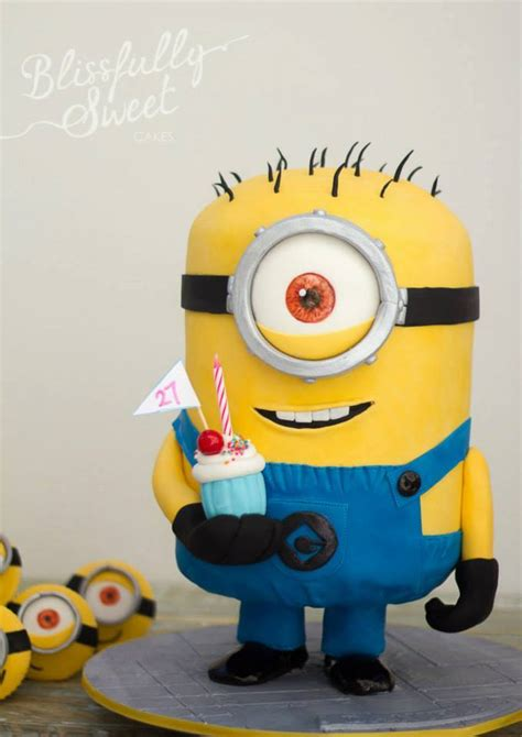 minion template for cake make a one in a minion cake with these minion cake ideas
