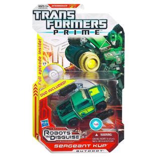 Transformers Deluxe Sergeant Cup transformers prime deluxe sergeant kup