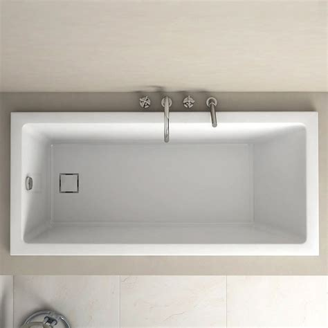 baignoire encastrable baignoire rectangulaire 150x70 cm acrylique cavallo