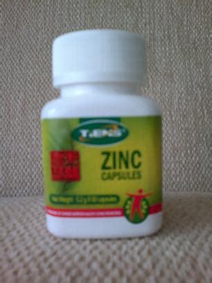Suplemen Zinc Tiens tiens tianshi zinc capsules