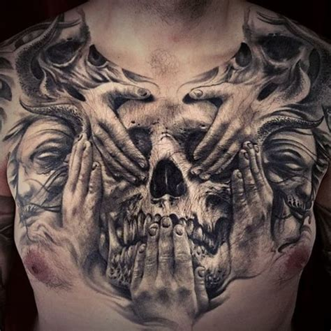 7 191 Likes 112 Comments Sullen Art Collective Evil Skull Tattoos