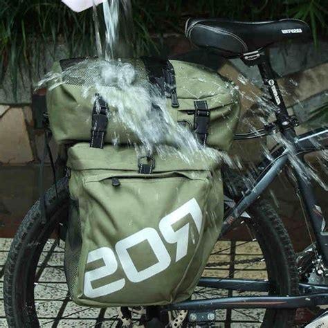 Roswheel Tas Sepeda Rear Seat Rack 14236 roswheel 37l waterproof 3 in 1 cycling bike bicycle rear