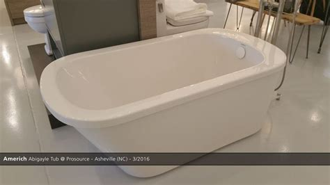 Blackman Plumbing Supply Huntington Ny by Americh Abigayle Tub Prosource Asheville Nc 3 2016 Showroom Displays