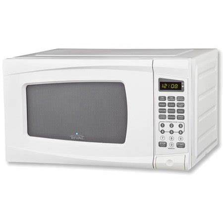 microwave store rival 0 7 cu ft digital microwave oven white walmart com