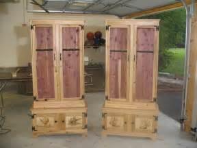 cedar gun cabinet plans 187 woodworktips
