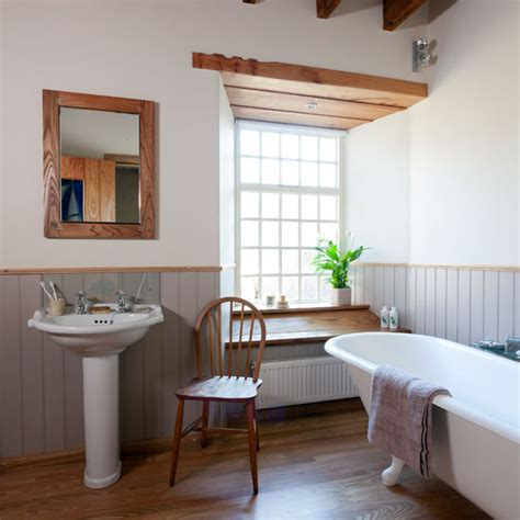 country chic bathroom be inspired by a country style bathroom ideal home