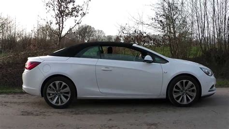 opel cascada convertible 2013 opel cascada convertible roof opening and closing