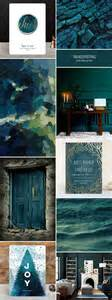 Trending Colors For Home Decor by 2016 Stationery Color Trends Deep Blue Green Mixed