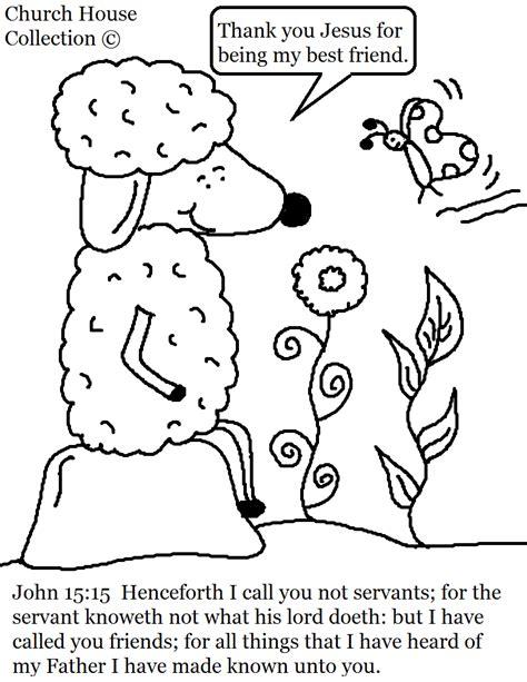 john 15 15 sheep coloring page