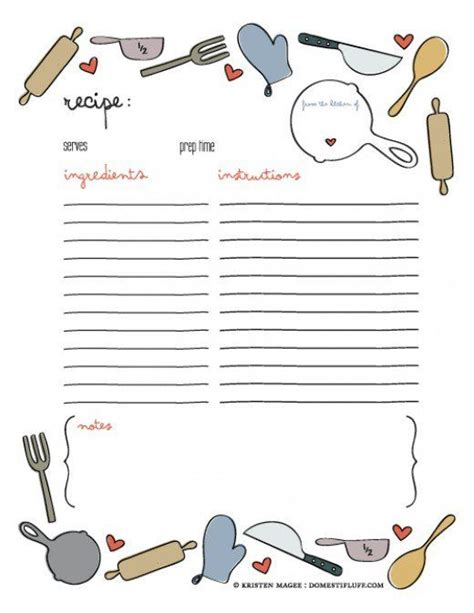 25 unique cookbook template ideas on pinterest family