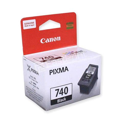 Canon Pg 740 Black Original cartridge original canon pg 740 black cl 741 color fast