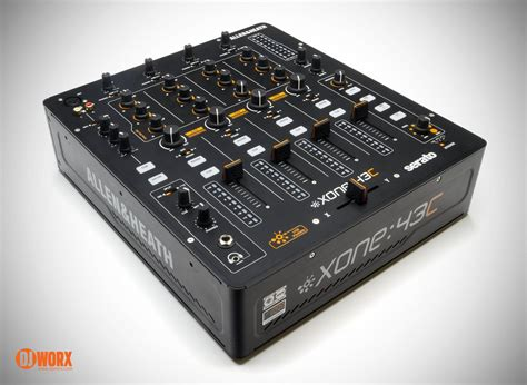 Mixer Allen Heath Bekas review allen heath xone 43c serato dj mixer djworx