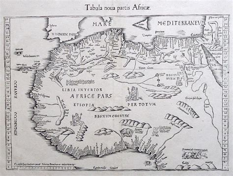 africa map 1500 cool map from the 1500 s of west africa maps