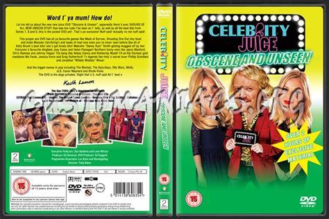 celebrity juice unseen celebrity juice obscene unseen dvd cover dvd covers