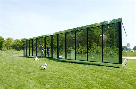 mirror house reflective mirror house by johan selbing anouk vogel