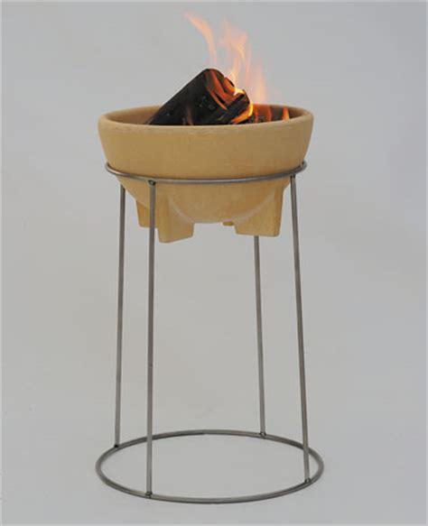 feuerschale keramik mit pfanne und grillrost set feuerschale mit st 228 nder denk keramik