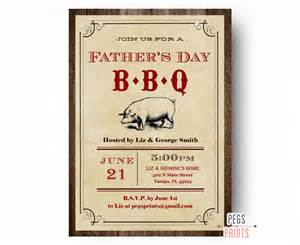 fathers day bbq invitation printable fathers day dinner
