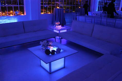 light up couch light up furniture rentals ny