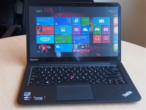 Laptop Lenovo Thinkpad S431 Lenovo Thinkpad S431 Ultrabook Review Notebookreview