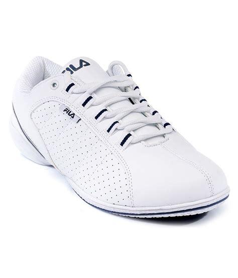 fila white sneaker shoes price in india buy fila white