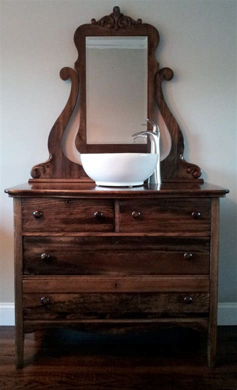 old dresser as bathroom vanity 66 best images about dresser s into vanities on pinterest