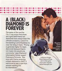 carrie bradshaw wedding ring and the city black catherine angiel