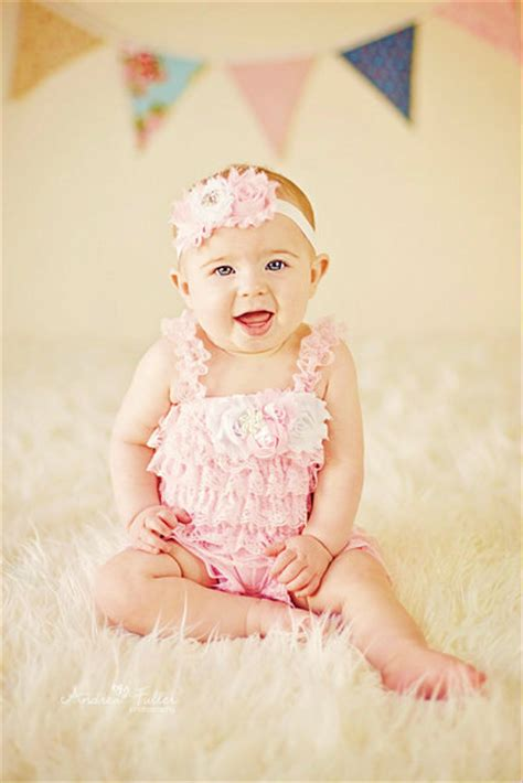 17 best images about lace petti rompers www petti romper headband set pink lace romper baby headband