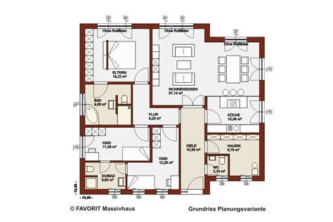 haus bauen grundrisse favorit massivhaus