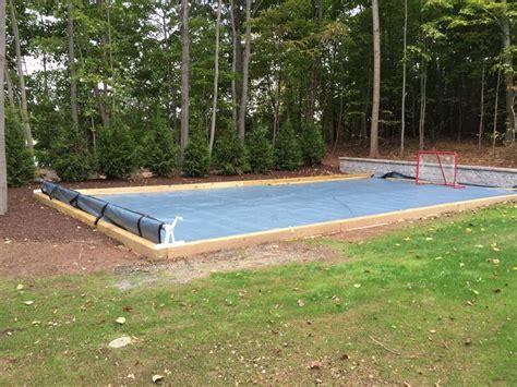 backyard ice rink tarp pinterest the world s catalog of ideas