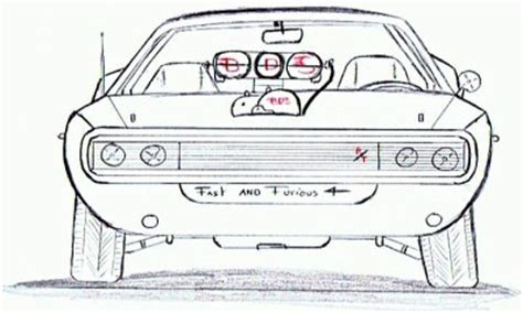 Coloriage Voiture Fast And Furious Coloriage De Voiture De Fast And Furious